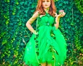 Halloween Costume Poison Ivy | Poison Ivy Costume | Poision Ivy Tutu Dress | Poison Ivy Tutu Costume | Poison Ivy | Gotham Sirens | Cosplay