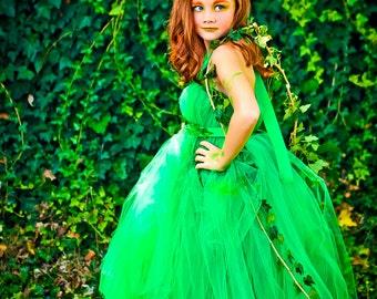 Poison Ivy Tutu Dress | Poison Ivy Costume | Poision Ivy Halloween Costume | Poison Ivy Tutu Costume
