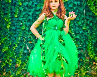 Poison Ivy Tutu Dress | Poison Ivy Halloween Costume | Poison Ivy Tutu | Poison Ivy Costume | Poison Ivy Tu Tu | Batman | Poison Ivy Costume