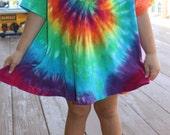 Tie dye girls 2/3T swing dress SALE