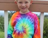 Tie dye kids long sleeve