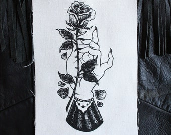 Mourning Hand patch