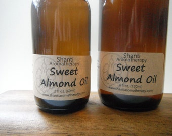 Almond Oil - Natural Carrier Oil for Skincare and Massage