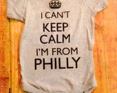 Philly Onesie~Philly Shirt~Phillies Onesie~Phillies Shirt~Philadelphia~Eagles~Philly Baby~Phillies T Shirt~philadelphia onesie