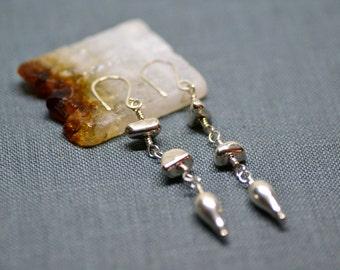 sterling spike earrings