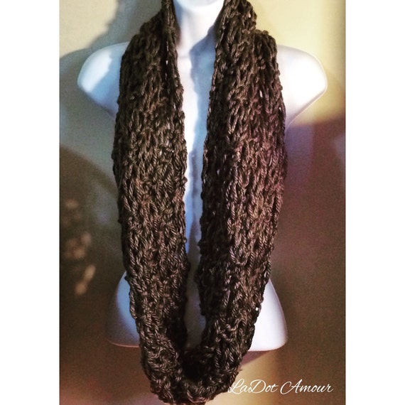 Loose Knit Scarf by LaDotAmour on Etsy