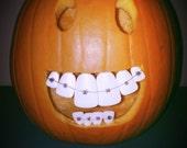pumpkin teeth 3 Pack Buckteeth. Lg, Med, Sm  (36) Teeth in Total ships to  USA, United Kingdom,UK,