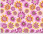 Flower Power 01, Apparel/Quilt Fabric, Baby/Nursery Yardage, Home Decor/Diy Craft Supplies, Baby Fabric, Flowers