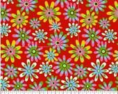 Flower Power 06, Apparel/Quilt Fabric, Baby/Nursery Yardage, Home Decor/Diy Craft Supplies, Baby Fabric, Flowers