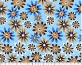 Flower Power 10, Apparel/Quilt Fabric, Baby/Nursery Yardage, Home Decor/Diy Craft Supplies, Baby Fabric, Designer Fashion Fabric