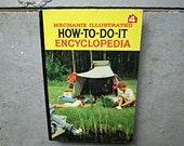 Vintage How to Do It Encyclopedia - Camping, Canoe, Carousel, Carpentry - Volume 4 Mechanix Illustrated Handyman Reference Book 1961