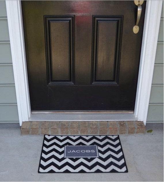 Personalized Doormat Welcome Mat Monogrammed Doormat