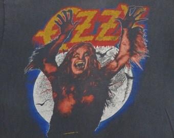 OzzY OSBOURNE 1984 tour T SHIRT