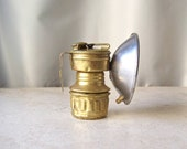 Vintage Carbide Miners Lamp Guy's Dropper by Universal Lamp Co ca 1934