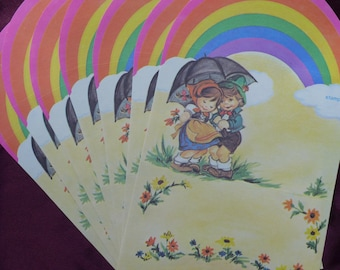 Over the Rainbow Fold Over Notes