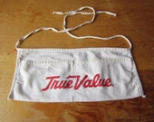 Vintage Shop Apron  True Value Hardware Apron