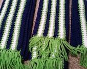 3 Seattle Seahawks scarves