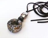 Paper jewelry, Bohemian style jewelry, Boho chic necklace, Eco fashion, Eco friendly jewelry, Eco chic paper necklace, Paper necklace