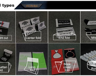 300 custom woven logo labels, custom clothing Labels, woven labels, garment label, art logo