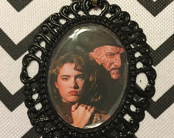 Freddy Krueger and Nancy Cameo Necklace