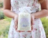 Eco Friendly Confetti . heart confetti . rice confetti . white confetti diy wedding favors biodegradable confetti