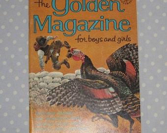 Golden Magazine for Boys and Girls November 1966 Vintage Children Book