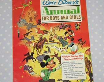 Golden Magazine Annual Special for Boys and Girls 1966 Vintage Children Book (1 of 2)