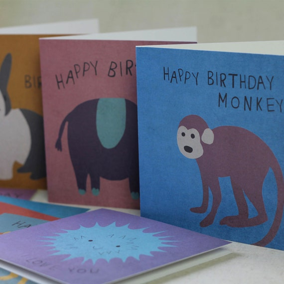Wildlife Occassion Cards Set Of Eight
