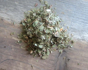 Witch Hazel Leaf Dried Herb - Wiccan herbs witchcraft pagan magick purification occult supplies altar tools magic