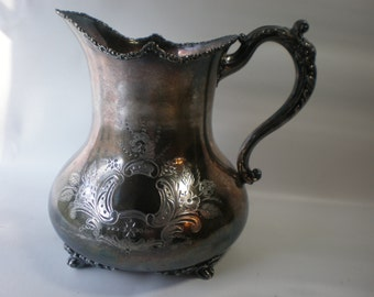 Vintage Silverplate Forbes Quadruple Plated Teapot