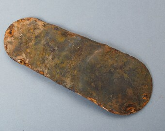 SALE... Vintage brass spoon bait, plate, pendant, lure