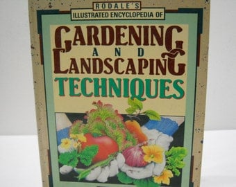 Rodale's Gardening And Landscaping Techniques Chemical Free Hardcover Book