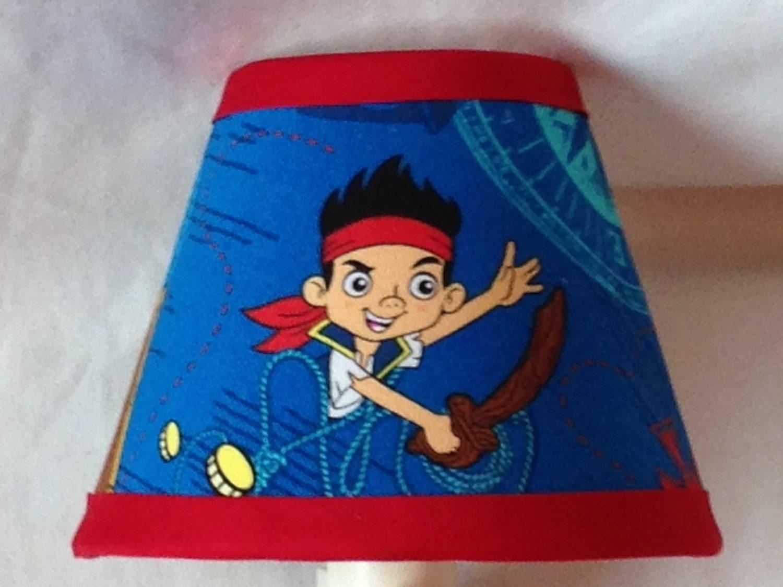 Jake And The Neverland Pirates Custom Fabric Night Light