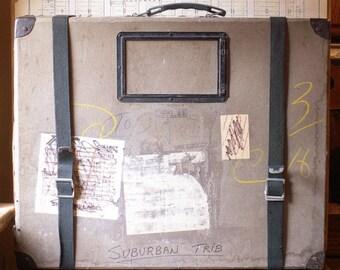 Extra Large Vintage Film Mailer Case - Great Media Room or Craft Room Decor