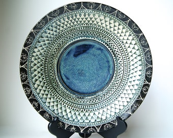 "12"" Platter, Serving Platter, Serving Bowl, by RiverStone Pottery...MADE TO ORDER"