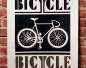 Bicycle Black and Grey