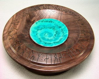 Walnut Burl Talking Bowl 6 Inches Across...There are some who can live without wild things and some who can not...