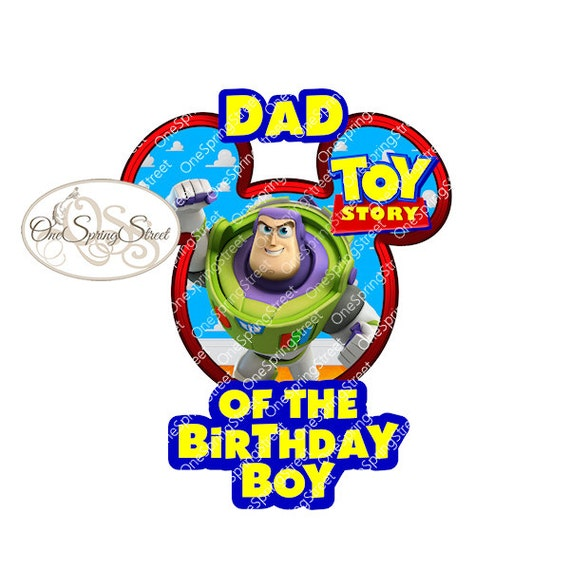Boy Toys For Dads : Items similar to disney iron on transfer toy story dad of