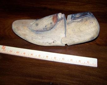 TWO Vintage German Wood Cobblers Feet, Mannequin Feet