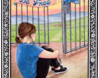 Be Free 8X10 Print