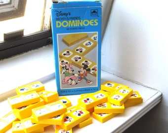 Mickey Mouse and Friends Dominoes by Golden