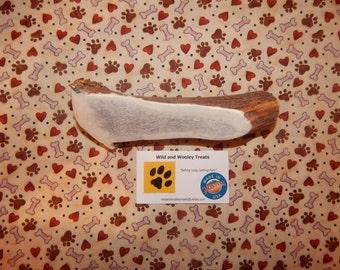 "Organic Jumbo Elk Antler Dog Chew Split ""Made in Montana"" (Lot B100)"