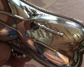 Wilcox Silver Hairpin Box Victorian Rare