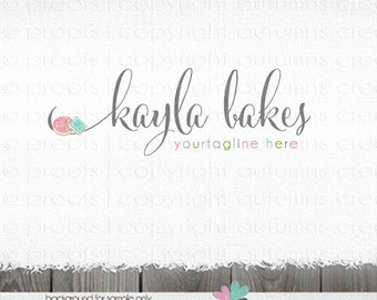 premade logo - cookie logo - bakery logo design - logo for cookie company-sweet shop logo -cookies logo - premade logo design - baking