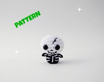 Crochet Skeleton Pattern / Halloween Pattern / Crochet Doll Pattern / Amigurumi Doll Pattern / Halloween Doll Pattern / Kids Toys Pattern