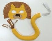 Lion Mask & Tail- CHILD