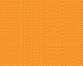 SNAPSHOTS - Riley Blake Camera Fabric Line  1 yard pre-cut, C4075 HEARTS ORaNGE