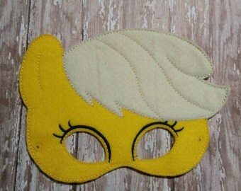 My Little Pony Apple Jack Pretend Play Mask Party Favor Dress Up