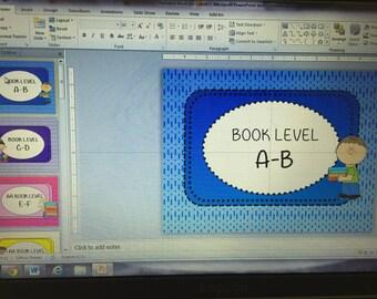 A-Z Book Bin Labels PRINTABLE DOWNLOAD