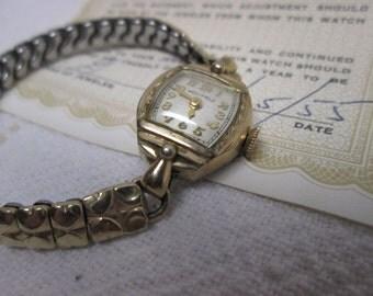 Westfield Ladies Watch with case, Art Deco, wind up watch, Jewelry